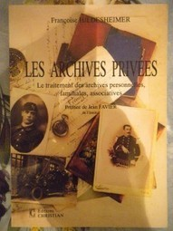 les archives privées | Généalogie facile | GenealoNet | Scoop.it