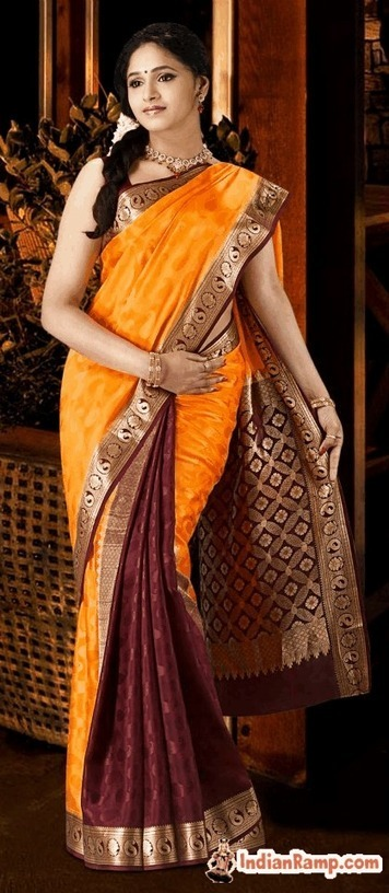 Silk Pattu Traditional Saree, Indian Designer Silk Dresses for Women | CHICS & FASHION | Scoop.it