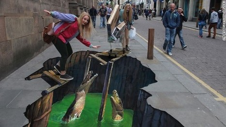 Eye-popping street art ... and how it broke free of the banks | Street Art Marketing | Scoop.it