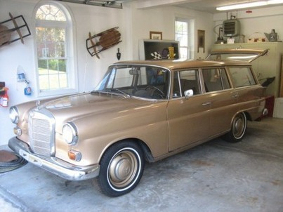 Rare 1968 Mercedes IMA Universal 200D Heckflosse Wagon | German Cars For Sale Blog | Classic cars enthusiast | Scoop.it