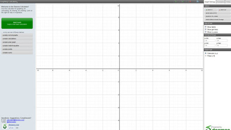 Desmos Graphing Calculator | Online Graphing Calculators | Scoop.it