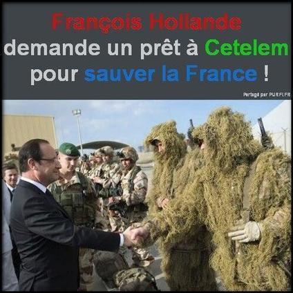 Mali : Hollandouille a recours à Cetelem pour financer sa guerre | Actualités Afrique | Scoop.it