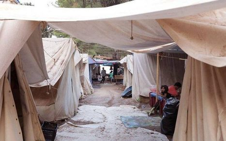 Syrian refugees in Greece 'put their tent on Airbnb', promising scorpions, dehydration and 'broken promises' | Politically Incorrect | Scoop.it