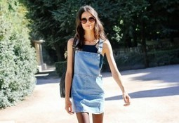 Why the Denim Dress Is the Perfect Transition Piece for Fall | urban clothing | Scoop.it