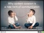 La curation, une nouvelle forme de communicatio... | Información y Documentación | Scoop.it