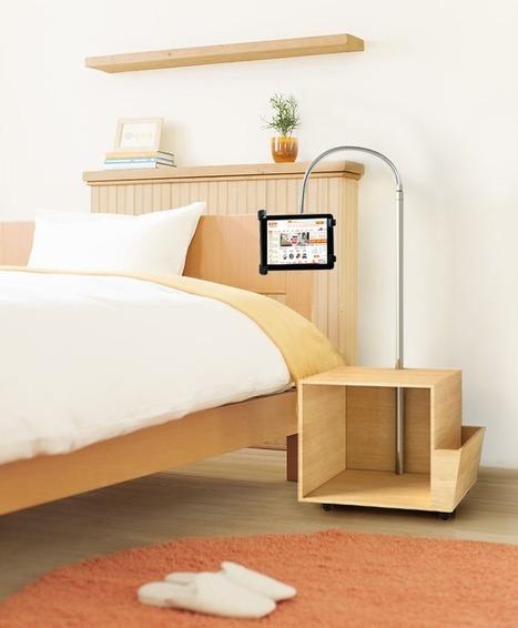 Rolling Tablet Stand   Adjustable Ergonomic Stand Up Desk   Scoop.it