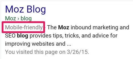 3 Days After Mobilegeddon: How Far Did the Sky Fall?   Website Pages Advice   Scoop.it