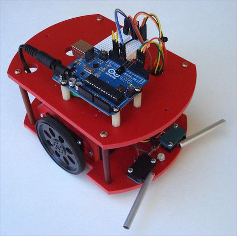 Build Your First Robot - Popular Mechanics | Arduino, Processing | Scoop.it