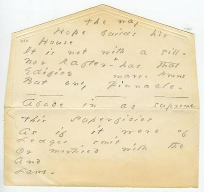 [évènement] The Online Emily Dickinson Archive Makes Thousands of the Poet's Manuscripts Freely Available | Poezibao | Scoop.it