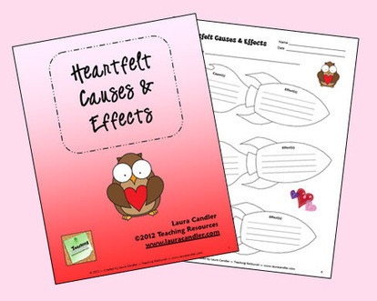 Heartfelt Causes and Effects with Mr. Hatch | Seasonal Freebies for Teachers | Scoop.it