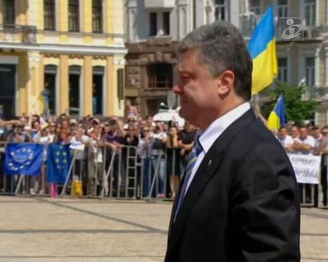 Novo Presidente da Ucrânia diz que nunca renunciará à Crimeia - Público.pt | Vladimir Putin | Scoop.it