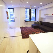 The Tiny Transforming Apartment That Packs Eight Rooms into 420 Square Feet | Smart Sustainable Cities | Scoop.it