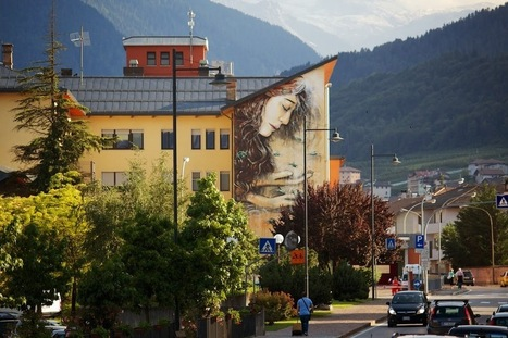 Alice New Mural - Cles, Italy | World of Street & Outdoor Arts | Scoop.it