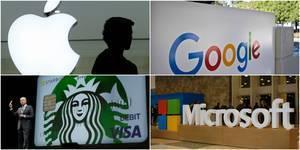 Apple, Google, Starbucks... Ces grands groupes américains dans le collimateur de Bruxelles   InfoPME   Scoop.it