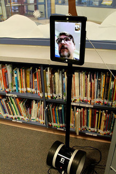 'Telepresence Robots' Connect Virtual Teachers With Classrooms | Digital Education | Scoop.it