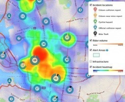 BikeMaps, GIS Maps Hotspots for Bike Safety #bikemaps | Mapping Tools and Technologies | Scoop.it
