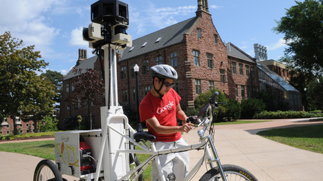 Google Street View trike tours N.B. campuses - New Brunswick - CBC News | All About Alumni | Scoop.it