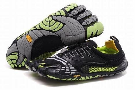 vibram 5 fingers komodosport ls black grey green sneaker for men | popular collection | Scoop.it