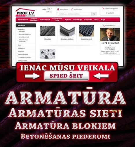Armatūra Piegāde būvmateriālu interneta veikals prof.lv | Būvmateriāli - Prof.lv! Būvmateriālu interneta veikals. | Scoop.it