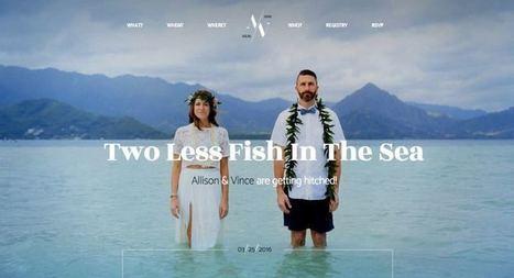 Hitched WordPress Wedding Brides & Grooms Theme   Free Premium WordPress Themes   Scoop.it