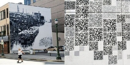 In New York, QR Codes Train the Spotlight on the Arts | QR Code Art | Scoop.it