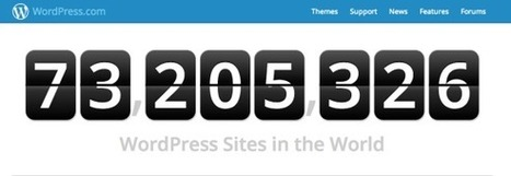 Latest WordPress.com numbers & news and 30+ plugins to try | Social Media Slant | The Cendrine Marrouat Magazine | Scoop.it