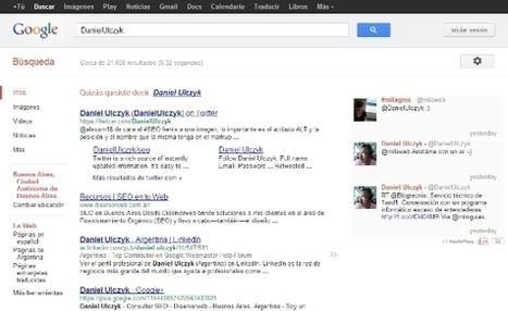 Utilidades para Webmasters: Como añadir Twitter a los resultados de búsquedas de Google | Bits on | Scoop.it