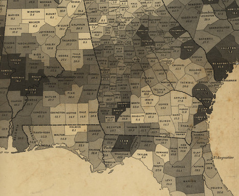 First American attempt to map the census, published before Civil War | ☼ Ideas To Make Us Think | Scoop.it