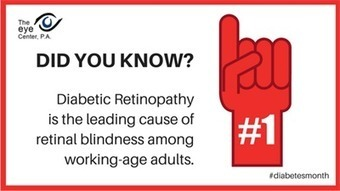 &quot;American Diabetes Month: How Diabetes Affects Your Eyes<br/>&quot;   The Eye Center, P.A.   Scoop.it