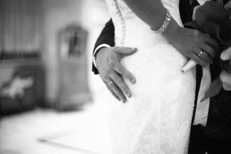 "Saatchi Art Artist: Edward Olive; Black & White 2007 Photography ""Groom holding bottom of bride black and white wedding photograph"" 