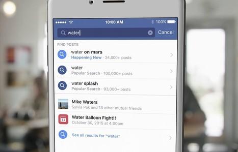 A pesquisa do Facebook está melhor que nunca | Shifter | Digital Marketing | Scoop.it