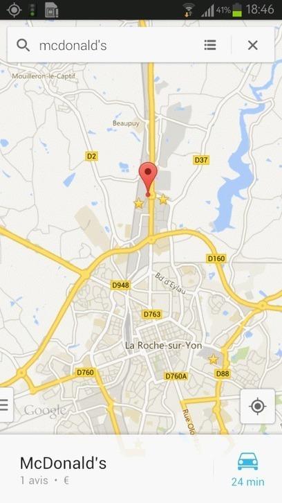 Google Maps s'enrichit ... de publicités ! | JOIN SCOOP.IT AND FOLLOW ME ON SCOOP.IT | Scoop.it