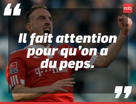 Les 10 phrases les plus incompréhensibles de Franck Ribéry | Le sport dans tous ses états | Scoop.it