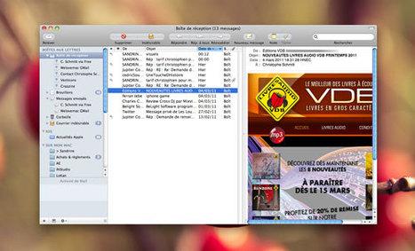 MacPlus : Apple Mail en 3 colonnes avant la v5 | Toute l'actualité du Mac | Scoop.it