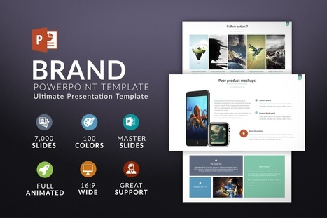Brand   Powerpoint Template for free   Freakinthecage Webdesign Lesetips   Scoop.it