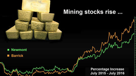'Gold price, mining stocks rebound' @investorseurope #gold | Energía Solar en Minería | Scoop.it
