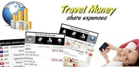 Travel Money - Share Expenses - Apps on Android Market | Best of Android | Scoop.it
