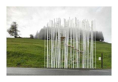 Artfully Designed Bus Stations in Austrian Village | Placemaking: Destination Branding | Marketing | Revitalization | Scoop.it