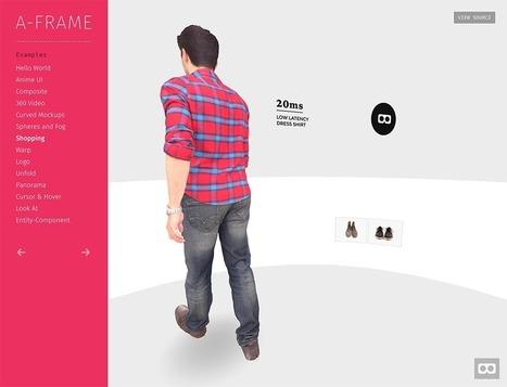 A-Frame, une invitation à la réalité augmentée | WEB : ressources et infos | Scoop.it