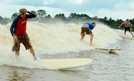 Cabalgando una ola durante 20 kilómetros   Ginga by SB   Scoop.it
