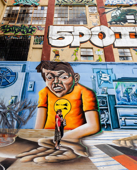 Graffiti Art of the City, From the Bronx to Brooklyn - New York Times | MAG GOO | Scoop.it
