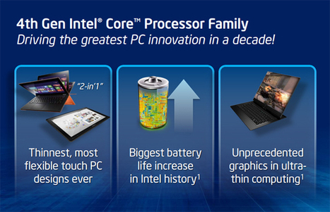 Intel Haswell Launched: 5 Things You Need to Know   Anything Mobile   Scoop.it