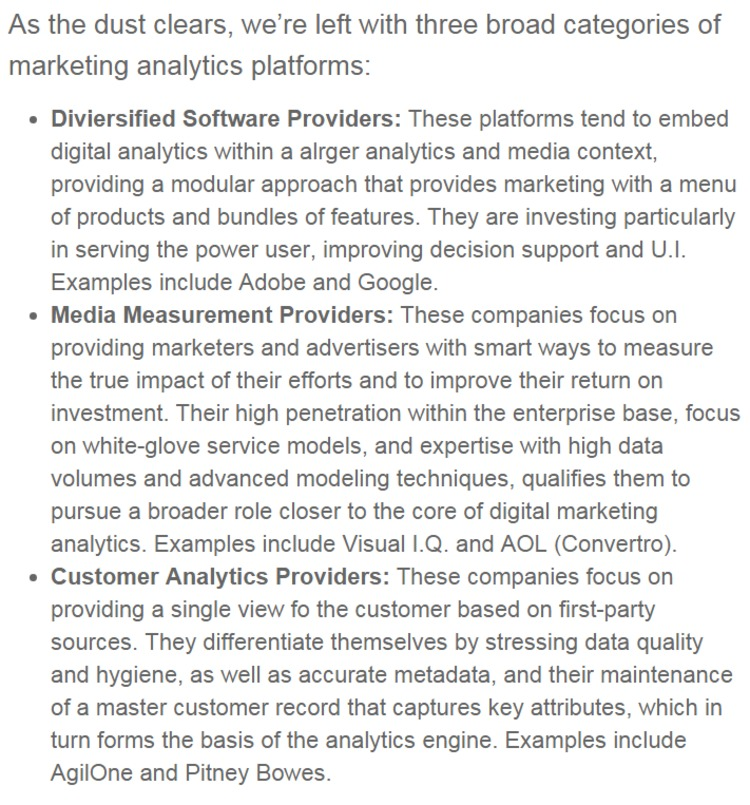 What's Going on with Marketing Analytics? - Gartner | The Marketing Technology Alert | Scoop.it