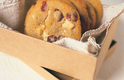 White chocolate cookies with cranberries recipe - Channel4 - 4Food | Product Profile Fairtrade | Scoop.it