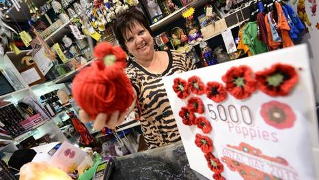Handmade poppy project to bloom in the Manning Valley | fibre life | Scoop.it