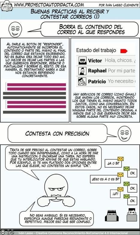 Buenas prácticas al recibir y contestar correos│@PAutodidacta | COMPETENCIA DIGITAL Y EDUCACION | Scoop.it