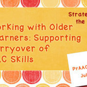 Working with Older Learners: Supporting Carryover of AAC Skills | AAC & Language Intervention | Scoop.it