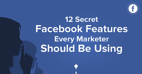 12 Secret Facebook Features Business Owners & Marketers Should be Using | Internet Presence | Scoop.it