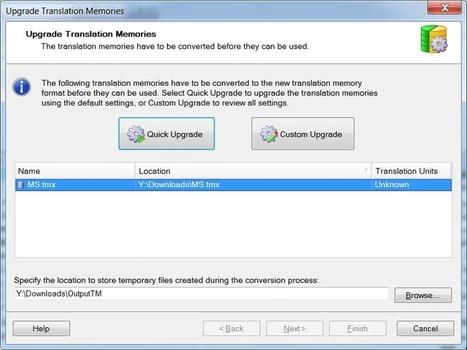 Opening Trados 2007 TMW Translation Memories in Trados Studio ... | Translation Memory | Scoop.it