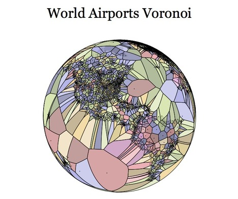 World Airports Voronoi | Journalisme graphique | Scoop.it